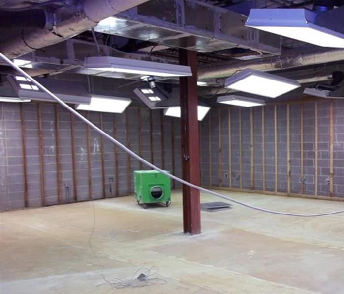 Mold Damaged Plantation Commercial Site After