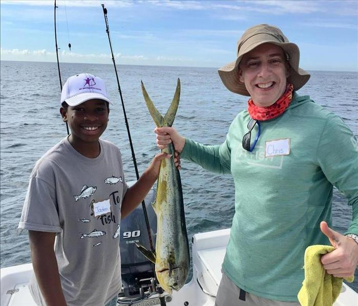 2018 Big Brothers Big Sisters Fishing Event